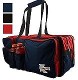 K-Cliffs Schläger, Tasche Robuste Badminton Schläger Tasche Deluxe Qualität Ballistic Nylon...
