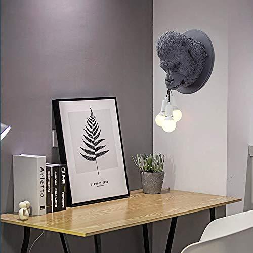 The only good quality wandlamp oranje grijs woonkamer slaapkamer nachtkastje Corridoio Negozio bar hars warm licht diameter 42 cm lila