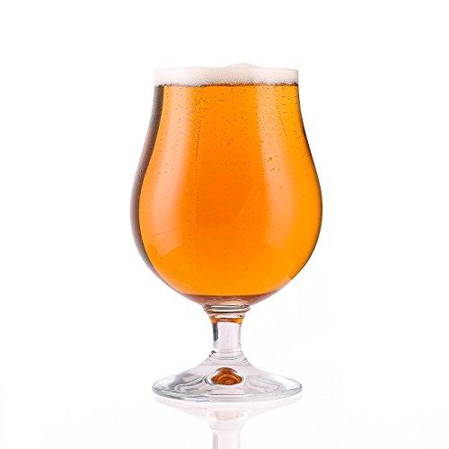 6 bicchieri da birra birra tulipani birra tulipano boccale da birra vetro bicchieri tulipano, Vetro, Senza indicatore di riempimento, 500 ml