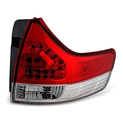 Epic Lighting OE Fitment Replacement Rear Brake Tail Light Assembly Compatible with 2011-2014 Sienna [ TO2805107 8155008030 ] Right Passenger Side RH