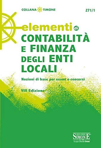 Elementi di contabilità e finanza degli enti locali
