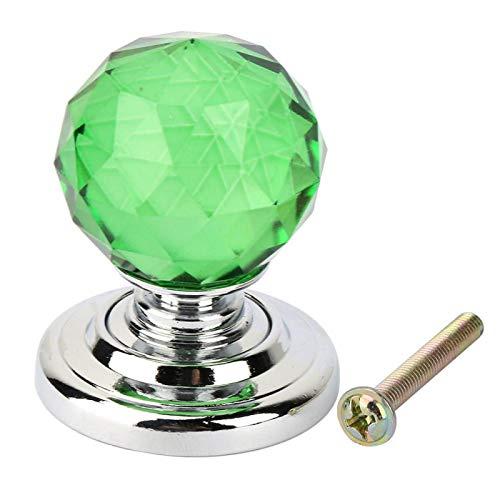 Schrankgriff Kristallknopf 30mm für Tür((710A-30 green))