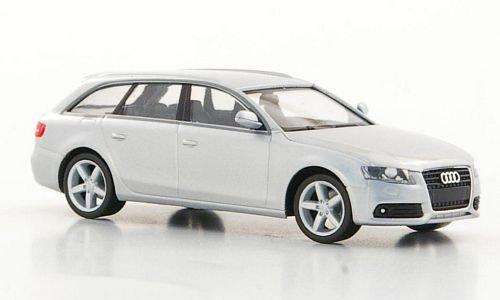 Audi A4 Avant, silber, Modellauto, Fertigmodell, Herpa 1:87
