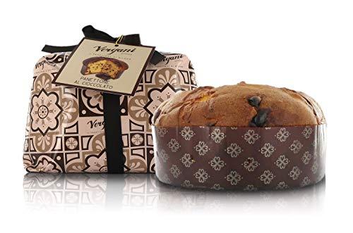 Vergani - Panettone de Chocolate 'Le Antiche Ricette' - 1 kilo