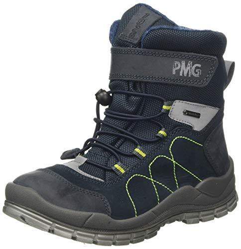 PRIMIGI Phh Gore-tex 43951 buty zimowe chłopięce, niebieski - Blau Blu Sc Navy Blu 4395111-38 EU
