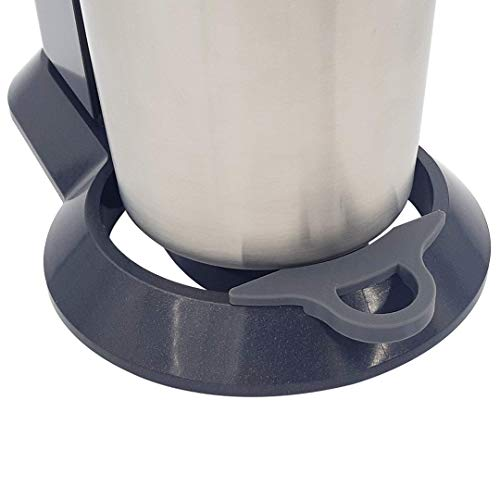 MaJoCompTec EASYHELP Clip kompatibel mit SodaStream Crystal 2.0 | Wassersprudler Tropfschutz Zubehör | reduziert Verschmutzung durch tropfendes Wasser | Soda Stream Kit (Grau, Crystal 2.0)