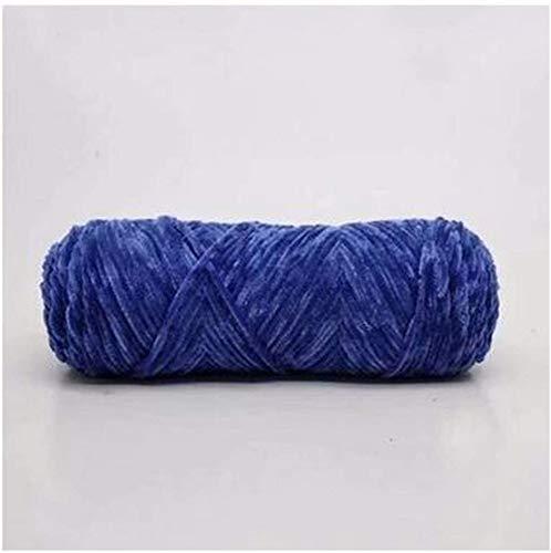 毛糸 ベルベット糸ソフトタンパク質カシミヤ糸シルクウールベビー糸かぎ針編み糸綿ウールセーターDIY LQHZWYC (Color : 6)