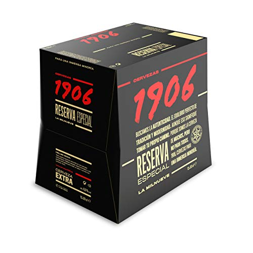 1906 Reserva Especial Cerveza Rubia, 12 x 330ml