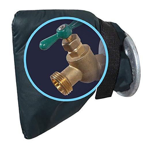 somubi Wasserhahn für den Winter, Schutzhülle, wasserdicht, für den Außenbereich, Gartenwasserhahn, Frostschutzabdeckung