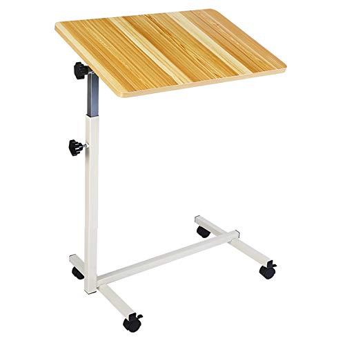 Pflegetisch beistelltisch, Medizinischer Adjustable Tilt Overbed Nachttisch, for Familien oder Krankenhäuser for Can Around The Haus verwendet Werden