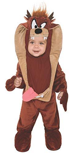 Rubie's Looney Tunes Taz Romper Costume, Brown, 12-18 Months