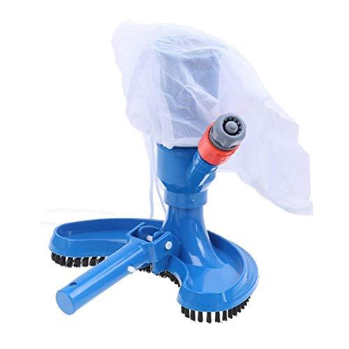 Katyma Limpiador de piscinas, aspiradora, limpiador de piscinas, limpiador para estanques, cepillo de vacío, herramienta de limpieza