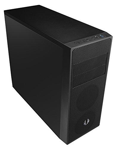 BitFenix BFC-NEO-100-KKXSK-RP Neos Midi-Tower PC-Gehäuse (ATX, 2X 5,25 Externe, 3X 3,5 interne, USB 3.0) schwarz
