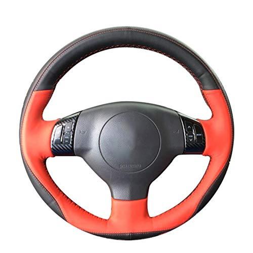 MDHANBK Cubierta para volante de coche cosida a mano, para Suzuki Swift Sport 2005-2011 / Splash 2007-2015