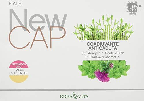 Erba Vita New Cap Fiale Coadiuvante Anticaduta - 12x10 ml