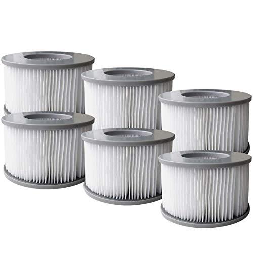 BRAST MSpa Whirlpool Ersatz Filter Filterkartusche Wasserfilter 6er Set