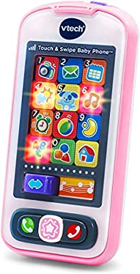 VTech Touch and Swipe Baby Phone, Pink from VTech