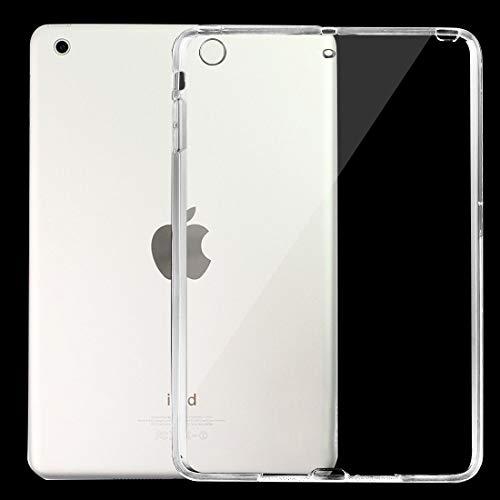 Fulvit Frote Transparente Color de Color Puro TPU para iPad Mini/Mini 2 Retina (púrpura) (Color : Transparent)