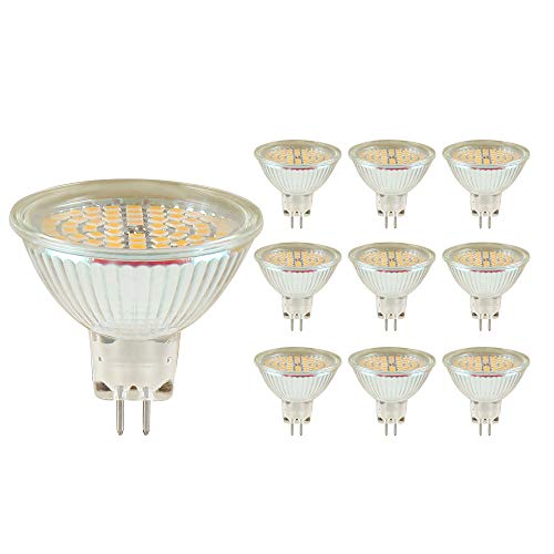 MR16-GU5.3 LED Lampe Warmweiß AC/DC 12V 10 * 3W MR16 LED 120º Abstrahlwinkel