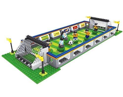 Calcio Set con 6 Lettore Mini Figures By Ingenious Giocattoli #25591