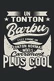 Un Tonton Barbu C'est Comme Un Tonton Normal Mais Carrément Plus Cool: Carnet de notes | Un dicton amusant pour un oncle avec une barbe