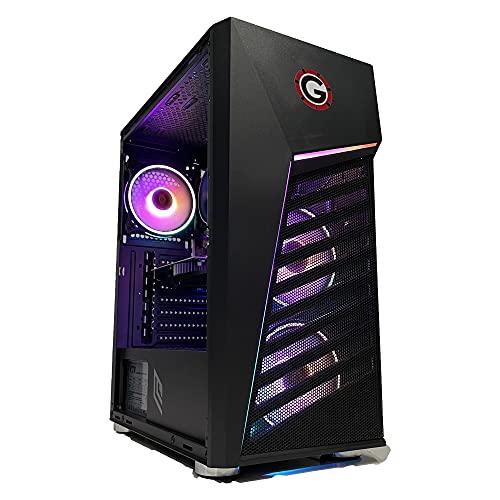 GOLOOK • PC Desktop Gaming RGB • Intel i7 • 16GB • SSD 480GB • WiFi • Scheda Video Dedicata GT 1030 2GB • Windows 10 Pro X64 • Computer Fisso Assemblato • Ventola Illuminata