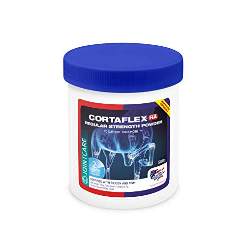 Equine America Cortaflex Regular Strength Powder | Premium Ready To Use Horse & Pony Supplement | Comprehensive Support For Joints & Mobility | 900g