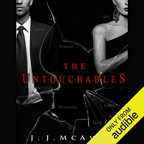 The Untouchables audiobook cover art