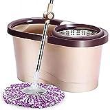 xinwan Spin Mop Wringer Set Bucket Set - para la Limpieza del...