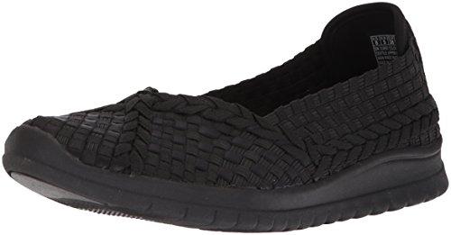 Skechers BOBS Pureflex3-Wonderlove Mary Jane - Zapatos planos para mujer, negro (Negro/Negro),...