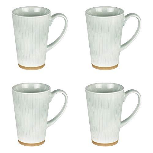 Table Passion - coffret 4 mugs lagon 30 cl