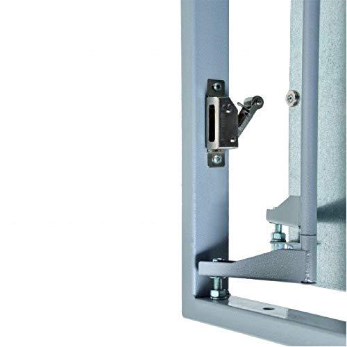 Tapa para Revisión 400 mm x 500 para Baldosas,acero,Revisión Mantenimiento Puerta Panel de acceso Trampilla de Registro Puerta de Inspección: Amazon.es: Bricolaje y herramientas