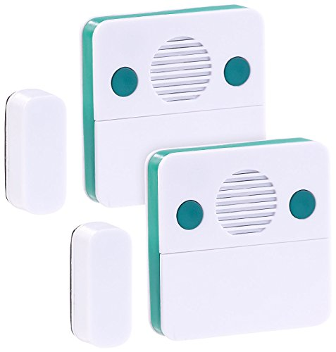 VisorTech Kühlschrankwächter: 2er-Set Universal-Türschließ-Erinnerungs-Alarm, 15/30 Sek. Auslösezeit (Kühlschrank Alarm nachrüsten)