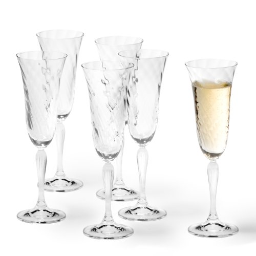 Leonardo 017736 - Set di 6 bicchieri da spumante Volterra