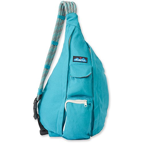 KAVU Women's Rope Bag Backpack, Turquoise, One Size