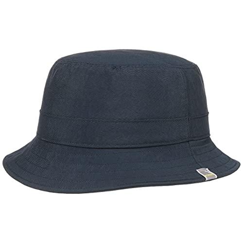 Stetson Sombrero de Pescador PCM Nylon Bucket Hombre - Outdoor Lluvia con Forro Verano/Invierno - 59 cm Azul Oscuro