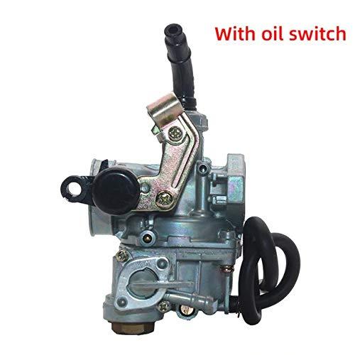 LQW HOME Carburador Carburador de la Motocicleta PZ16 PZ19 PZ20 PZ22 PZ26 PZ27 PZ30 Cable de Mano Circonero Compatible con 50cc-250cc Dirt Bike ATV Quad Go Kart Carbohidratos (Color : PZ19 3)