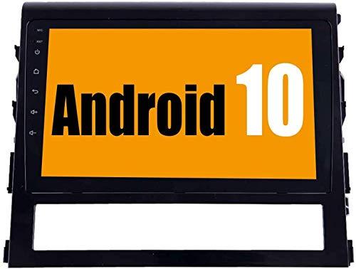 AEBDF Android 10.0 Car Sat Nav For Land Cruiser 2016-2018, GPS Navigation IPS Pantalla táctil, Reproductor Multimedia de automóviles STC en línea/Offline Mapa,4 Core 4g+WiFi 1+32g