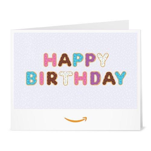 Amazon.de Gutschein zum Drucken (Cremiger Geburtstag) [Manifesto]