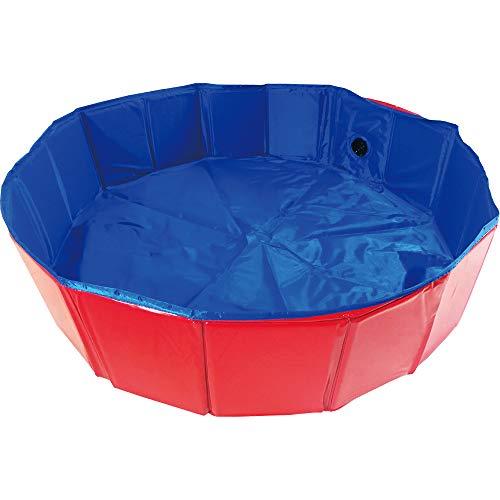 Hundepool für Hunde Swimmingpool Planschbecken Hundebadewanne Haustierpool Katzenpool Faltbare Haustiere Badewanne,Doggy Pool,Katzenpool für Hunde Katzen