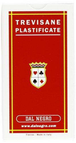 Dal Negro 10001 - Trevisane Carte da Gioco Regionali, Astuccio Rosso