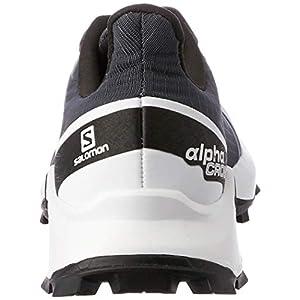Salomon Women's Supercross Trail Running Shoes, India Ink/White/Black, 7