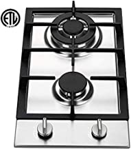 Ramblewood GC2-37P (LPG/Propane Gas) high efficiency 2 burner gas cooktop