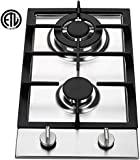 Ramblewood GC2-37N (Natural Gas) high efficiency 2 burner gas cooktop