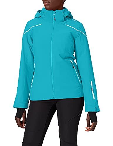 CMP Chaqueta de esquí para mujer., Mujer, Chaqueta, 39W1586F, azul/negro, 42