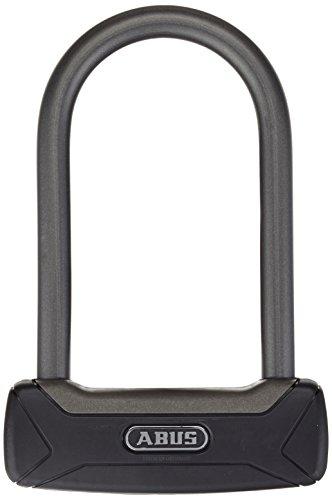 ABUS Bügelschloss Granit Plus 640/135HB150 - Extra leichtes Fahrradschloss mit Rundbügel - 150 mm Bügelhöhe - ABUS-Sicherheitslevel 12 - Schwarz