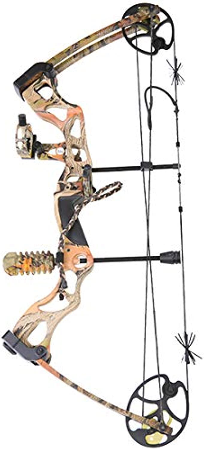 Apex Berserker Evolve 75 lbs Ready to Shoot Compound Bow Kit
