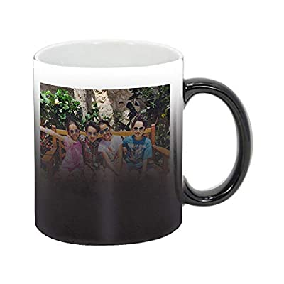 Personalized Add Your Custom Text and Photo White Ceramic 11 Oz Coffee Mug Customizable Gift For Him, For Her, For Boys, For Girls, For Husband, For Wife, For Men, For Women