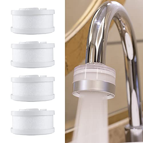 Long-Lasting Faucet Water Filter for Bathroom Sink .Kitchen Faucet Water Purifier.Hard Water Softener.Relieve Dry, Rough&Itchy Skin, Suitable For Sensitive Skin.Make Skin Smooth &Tender. Tylola TWF-01