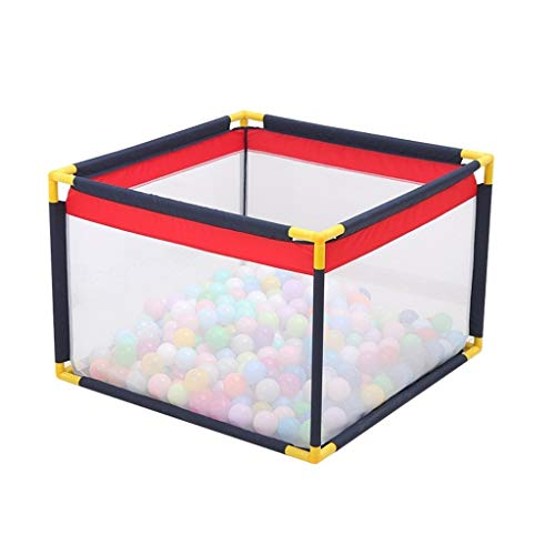 Great Features Of Baby playpen Playpen, Lightweight Square Baby Playpen Foldable Perspective Net Wat...